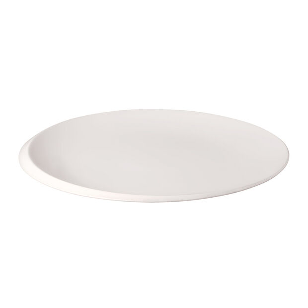 NewMoon gourmetbord, 32 cm, wit, , large