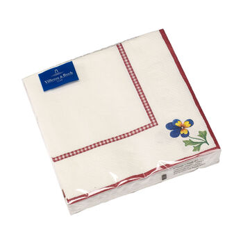 Papieren servetten Petite Fleur Papieren servet nieuw,20 stuks, 33x33cm