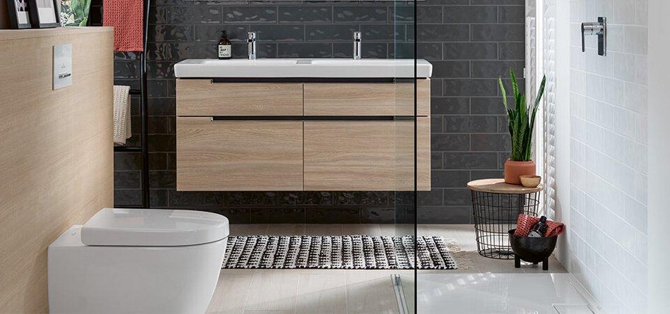Fabulous Kleine badkamer met douche - Ruimteoplossingen - Villeroy & Boch #UO21