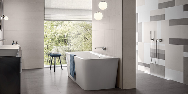 Grote badkamer stijlbewust ontwerpen en inrichten villeroy boch
