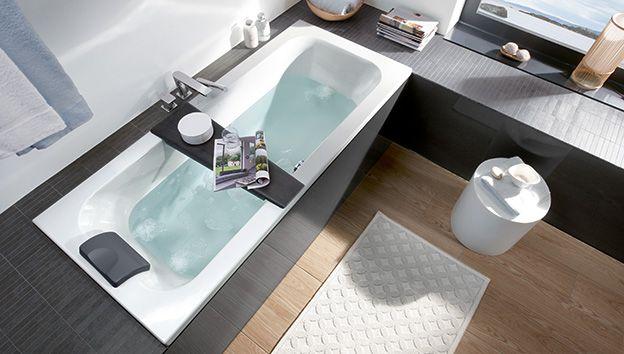 een badkuip plaatsen in een kleine badkamer villeroy boch. Black Bedroom Furniture Sets. Home Design Ideas