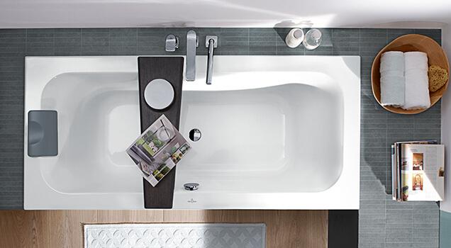 Kleine Badkamer Oplossing : Een badkuip plaatsen in een kleine badkamer villeroy & boch