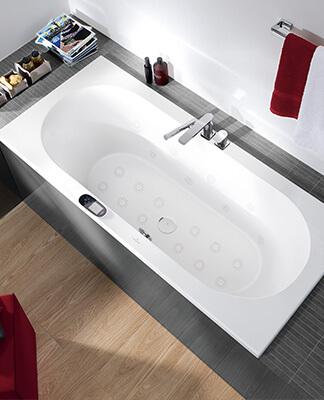 Een badkuip plaatsen in een kleine badkamer - Villeroy & Boch