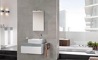 Een Gezellige Badkamer : Badkamer met schuin dakgedeelte ruimte slim benutten villeroy