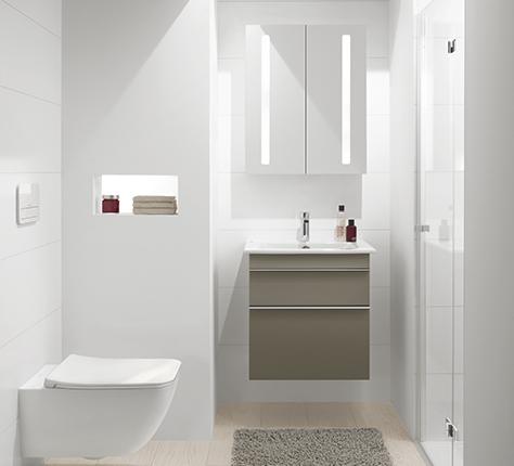gastenbadkamer meer comfort voor uw gasten villeroy boch. Black Bedroom Furniture Sets. Home Design Ideas