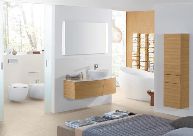 Grote badkamer- Stijlbewust ontwerpen en inrichten - Villeroy & Boch