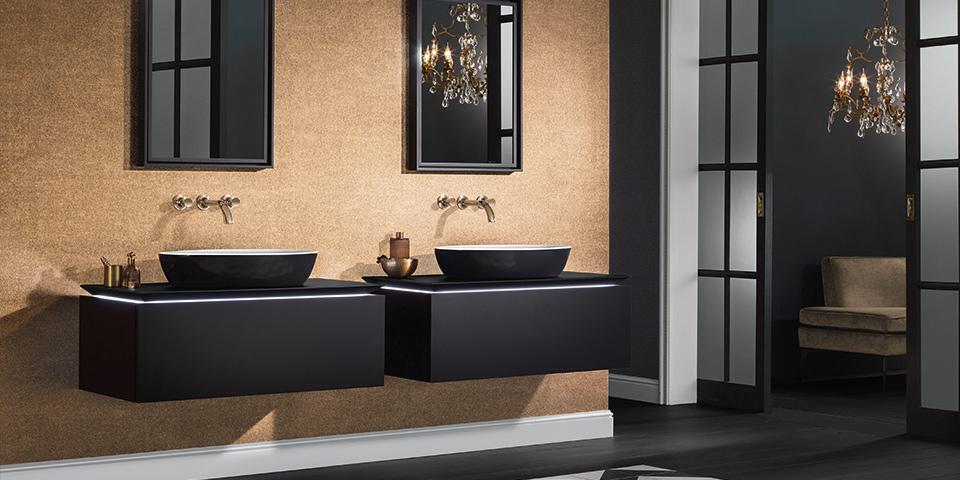 Zie hoe mooi kleuren werken in de badkamer - Villeroy & Boch
