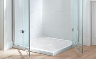 Inloopdouche Met Hoek : Kleine badkamer met douche ruimteoplossingen villeroy & boch