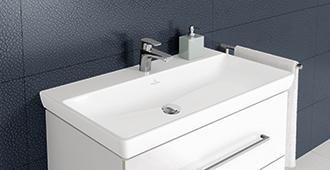 Wastafels en wasbakken badkamer met stijl villeroy boch