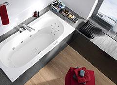 een overzicht van de whirlpoolbaden. Black Bedroom Furniture Sets. Home Design Ideas