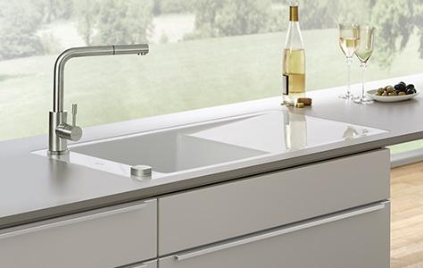 Witte Wasbak Keuken : De keukenspoelbak het hart van iedere keuken
