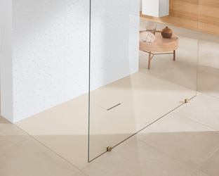 Badkamer Douche Vloeren : Douchebakken villeroy boch
